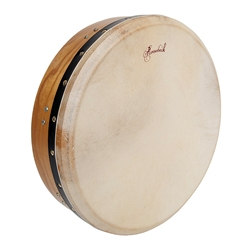 "Bodhran 14""x3.5"", Tune, Mulberry, Cross  BTN4M"