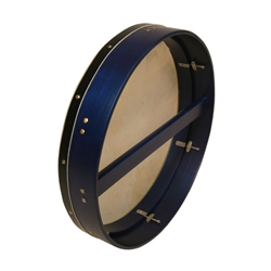 "Bodhran 18""x3.5"",Tune, Blue, Single BTN8L"