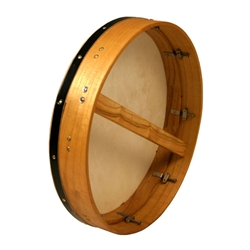 "Bodhran 18""x3.5"",Tune, Mulberry, Single BTN8M"