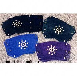Suede Leather Wrist Bracers BTS-2175