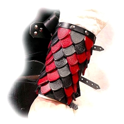Deluxe Scaled Arm Bracers BTS-2184