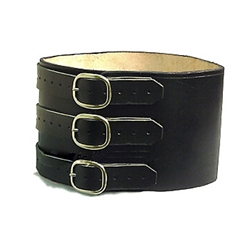 Roman Gladiator Leather Wide Kidney Belt