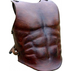 Leather Muscle Breastplate Deluxe BTS-5001