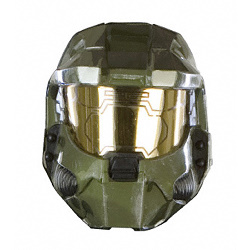 Master Chief Halo 3 Two Pieces Vacuform Costume Mask CU4524
