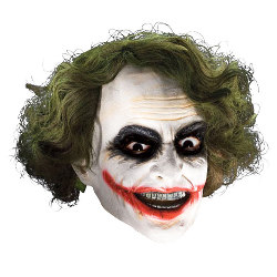 The Joker Adult 3/4 Costume Mask CU4526