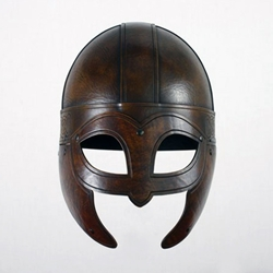 LARP Leather Beowulf Helmet DC-710