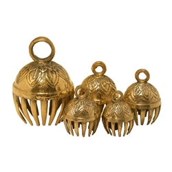 Elephant Bells, Set of 5  ELPB