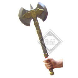 Latex Double Headed Axe 25.5in FP002