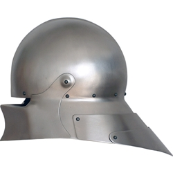 German Sallet Helm Articulated Tail GH0166