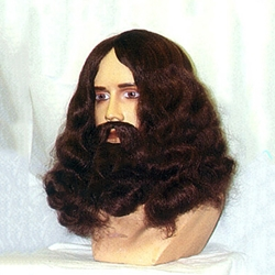 Long Hair and Beard Wig HW00029