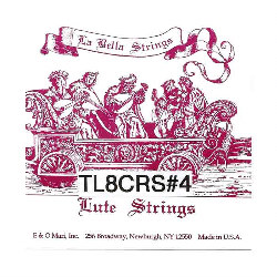 La Bella Lute String Set 8 Courses LBSLUT8