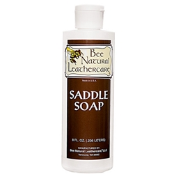 Bee Natural Saddle Soap - Leather Cleaner