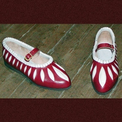 Ladies Slashed Shoes LS-4002