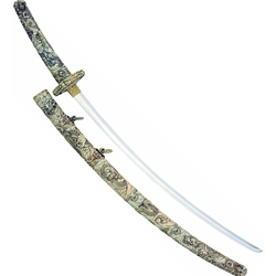 Tachi Meiji Samurai Sword by Marto of Toledo Spain M150