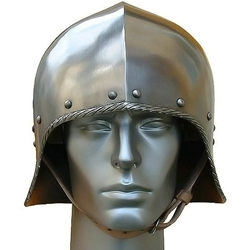 Open Face German Sallet Helmet