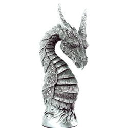 Enchanted Dragon Figure Knight Of Arthurian Chess Set