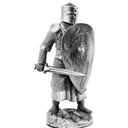 Knight Figure Pawn Of Arthurian Chess Set