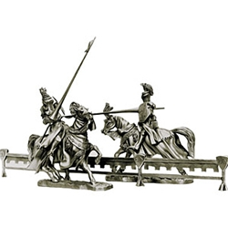 Jousting Tournament Divider Sculpture