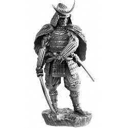 16Th Century Samurai Sculpture MESA010