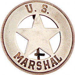 US Marshall Western Badge OH3019