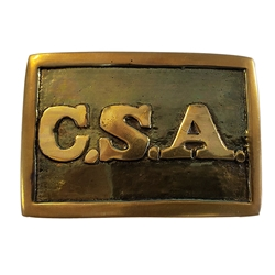 Confederate Rectangular Buckle ONC01