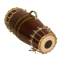 Bolt Tuned Pakhawaj Shell Drum