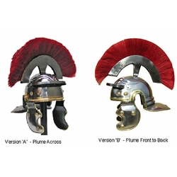 Roman Centurion Helmet with Plume Ready For Use RFUH019