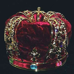 King Crown RJ11448 Burgundy