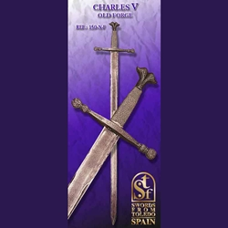 Emperor Charles Quint Sword, Old Forge TS-150-N-F