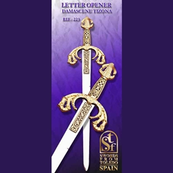 Damascene Tizona Letter-Opener