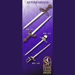 Collectors' Edition Spanish Dagger Letter Opener TS-231