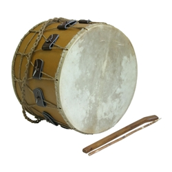 "Tupan Drum, 16"", Rope Tuned TUPR"