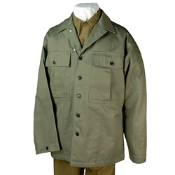U.S. GI HBT Fatigue Jacket WWII USHBTJACK