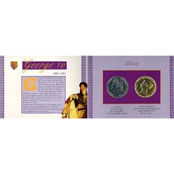 George IV and Victoria Replica Coin Set VGCP