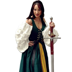 Medieval Cotton Irish Dress VL-IRISHDRESS