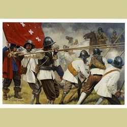 Whitecoats Defiant Military Art Print WD-15