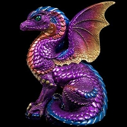 Spectral Dragon Sculpture Amethyst