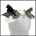 Leather Pauldrons - Shoulder Armor