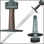 Functional Celtic and Viking Swords