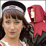Medieval Hats and Hoods Re-enactments SCA LARP Events