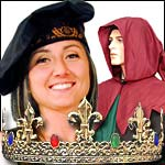 Medieval and Renaissance Hats, Hoods, Caps, Barretts and Snoods.