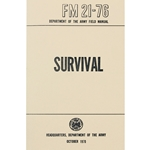 Survival Book - Headquarters, Department of the Army FM21-76