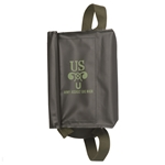 US Army M5 Assault Gas Mask Bag - Black - WWII Repro