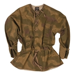 German Tan and Water Camouflage Smock - WWII Repro