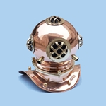 "Copper Divers Helmet 9"" 143-DH-0822"