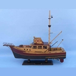 Jaws - Orca 20 Inch Wooden Model Ship
