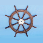 "Wooden Ship Wheel 48"" 143-SW-1712"