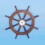 "Wooden Ship Wheel 36"" 143-SW-1714"