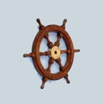 "Wooden Ship Wheel 24"" 143-SW-1716"