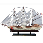 USCG Eagle Tall Ship - Wooden Model 32in